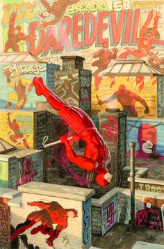 Daredevil #1.5 by Paolo Rivera