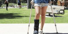 If you're a student with a broken limb and no idea how to deal, here are some tips for navigating life with a handicap. Knee Scooter, Broken Foot, My Left Foot, Crutches, College Campus, What Is Like, Handle, Bond, Beast