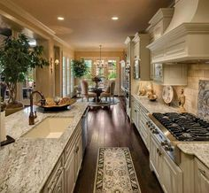 Beautiful updated galley kitchen