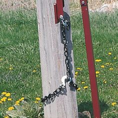Use this Post Puller Chain and Slip Hook with the Heavy-Duty Post Jack, Item No. By using this slip hook accessory, the jack easily removes construction stakes, galvanized fence posts, wood posts and U-channel posts. Galvanized Fence Post, Stock Fencing, Pallet Pictures, Metal Fab, Metal Work, Yard Tools, Fence Plants, Building A Fence, Pallet Fence