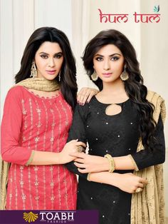 HUM TUM BY RR Wholesale Two Top Dress Material ₹651.00
