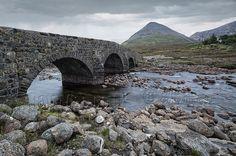 Sligachan , Isle of Skye View Image, Bridges, River, Stone, Outdoor, Outdoors, Bridge, Rocks, Outdoor Games