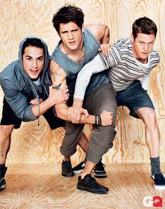 pictures of cute guy vampires | Hot Shot: The 'Vampire Diaries' Boys Wear Clothing, Look Energetic