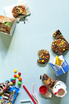 Brownie and Oatmeal Monster Cookies