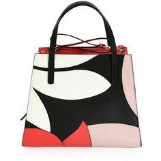 Marni Small Top-Handle Floral Tote Bag