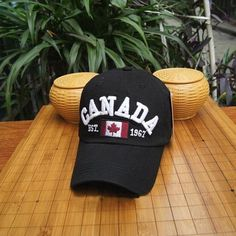 New Arrival Cotton Gorras Canada Baseball CapBA378 Flag Of Canada Hat Snapback Adjuatable Mens Baseball Caps Brand New For Adult