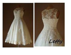 LETTY Wedding dress Tulle bridesmaid dress by AtelierArtistia