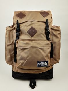 a26e45dbedd The North Face Men's Khaki Mountain Heritage Backpack Rucksack Backpack,  Travel Backpack, Travel Bags