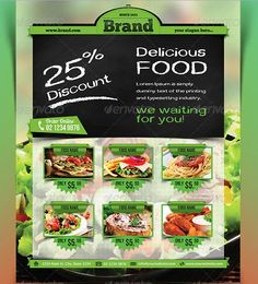 36 best food flyers images on pinterest graph design graphics and