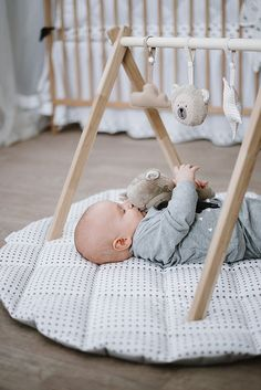 Hight quality baby activity gym stand is made of wood, is natural and attractive baby nursery equipment. Great gift welcoming new baby. Baby Activity Gym, Welcome New Baby, Natural Nursery, Teddy Bear Toys, Play Gym, Baby Supplies, Teething Toys, Baby Play, Baby Sleep