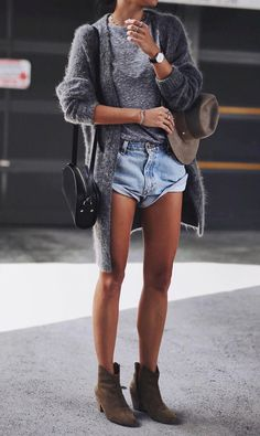 - Total Street Style Looks And Fashion Outfit Ideas Street Style Outfits, Looks Street Style, Mode Outfits, Looks Style, Casual Outfits, Fashion Outfits, My Style, Womens Fashion, Fashion Shorts