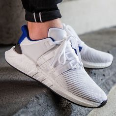 online retailer 23c87 0ee7b adidas Shoes   Adidas Eqt Support 93-17 Mens Sneaker   Color  Blue White    Size  Various