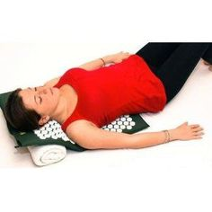 Bed Manipulation Therapies Of Nails Health & Beauty Green Original Acupressure Pillow For Pain Acupuncture