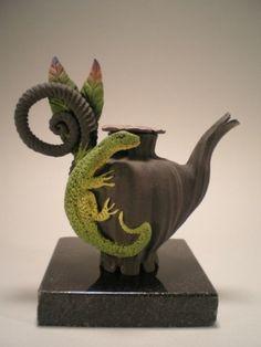 *lizard teapot by Sew Much Fun