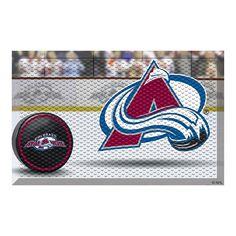 Colorado Avalanche NHL Scraper Doormat (19x30)
