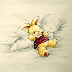 LÁMINAS VINTAGE,ANTIGUAS,RETRO Y POR EL ESTILO.... Toddler Drawing, Decoupage, Baby Journal, Cute Baby Dolls, Baby Art, Animated Cartoons, Animal Cards, Baby Scrapbook, Russian Art