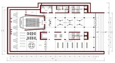 Kültür Merkezi Projesi Zemin Kat Planı