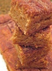 Snicker Doodle Brownies - Sweet Treat Eats