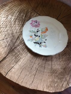Vintage Taylor Smith and Taylor China Plate by PriddysVintage, $8.00
