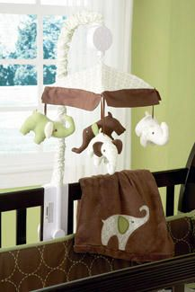 Green Elephant Musical Mobile by Carters