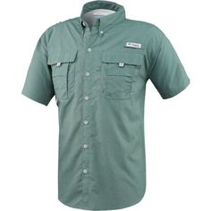 The Columbia Sportswear™ Men's Bahama™ II Shirt features mesh-lined cape vents and 2 big chest pockets.