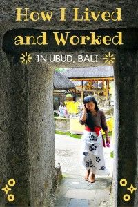 Learn how much it costs to live and work in Ubud, Indonesia, for a month in this Bali travel guide.