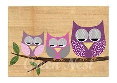 Creepy Owls