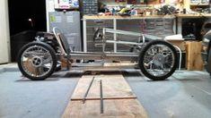 Bow's Cycle Kart Build (Page : CycleKart Tech Forum : CycleKart Forum : The CycleKart Club Go Karts, Karting, Soap Box Cars, Diy Go Kart, Moto Car, Drift Trike, Pedal Cars, Diy Car, Mini Bike