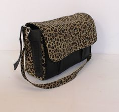 Stroller pram caddy diaper nappy bag Cheetah by Tracey Lipman, $48.00