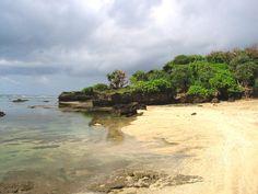 Sayang Heulang Beach, Garut, West Java, Indonesia