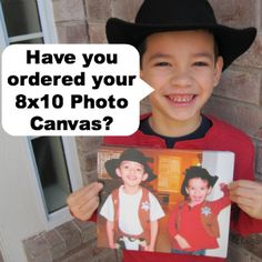 You can order an 8x10 Photo Canvas for only the cost of shipping (14.95) thru Feb. 28 http://freebies4mom.com/2013/02/20/canvasfree/