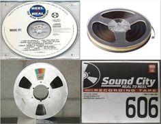 Los Real to Real eran el formato de audio; que teníamos para los años 50'y 60'.