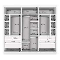 Couple Wardrobe with 3 Mirror 3 Doors Siena Furniture White .- Guarda Roupa Casal com 3 Espelho 3 Portas Siena Móveis Branco – MadeiraMadeira Double Wardrobe with 3 Mirror 3 Doors Siena Furniture White – MadeiraMadeira -the chosen wardrobe desig Wardrobe Design Bedroom, Diy Wardrobe, Master Bedroom Closet, Bedroom Wardrobe, Wardrobe Ideas, Closet Ideas, Wardrobe Storage, Mirrored Wardrobe, Clothes Storage