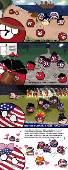 It's the British!!