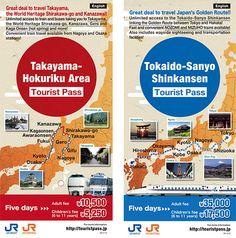 Japan Railway Shinkansen Tourist Pass | Only in Japan