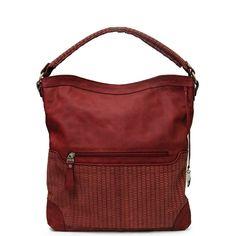 02010  $ 224.990  Material: Cuero  Color: Rojo