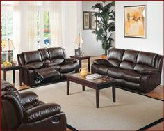 Homelegance Motion Sofa Set Python EL-9813 by Homelegance. $2379.00. Python Sofa Set Collection.Motion blends with masculine styling in the Python seating group. A Center console contained in the loveseat has cup holders and storage capability, Footrests contribute to the functionality of this collection. The warm brown finish in bonded leather and vinyl match warms up any room. Includes: 1 x Motion Sofa EL-9813 -3 1 x Motion Love Seat EL-9813 -2 1 x Recliner Chai...