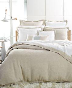 Hotel Collection Linen Natural Standard Sham