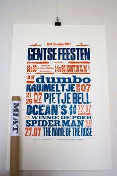 Gentse Feesten poster