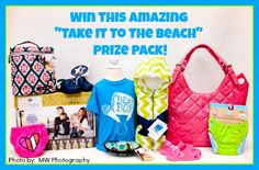 Take It To The Beach! FLASH Giveaway ~ Over $480 value!! (ends 6/25)