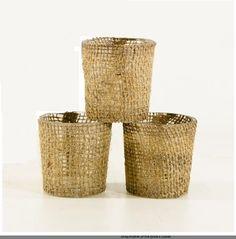 Great burlap votives at a fantastic price. #burlapandlace. http://www.bliss-bridal-weddings.com/#!product/prd3/3213806861/burlap-candle-holders-6-pack