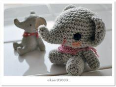 elefantito amigurumi pagina japonesa