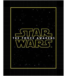 Introducing this Star Wars VII: The Force Awakens fleece throw blanket. This fleece blanket features the logo is perfect for all Star Wars fans.Jo-Ann Exclusive Print. 48inches Wide100% Polyester Mach