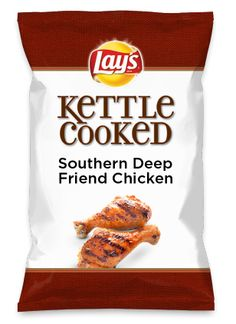 Wouldn't Southern Deep Friend Chicken be yummy as a chip? Lay's Do Us A Flavor is back, and the search is on for the yummiest chip idea. Create one using your favorite flavors from around the country and you could win $1 million! https://www.dousaflavor.com See Rules.