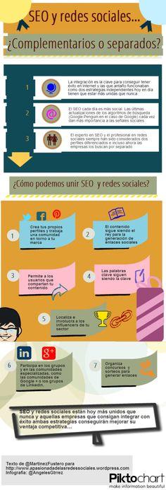 SEO y Redes Sociales #infografia