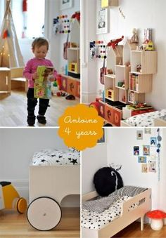 bright & colourful shared kids bedroom antoine and leonor by mavis