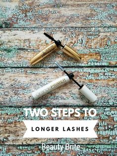 Two Steps To Longer Lashes | Beauty Brite atbcm http://beautybrite.com/two-steps-to-longer-lashes/