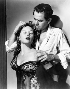 Gloria Grahame, Glenn Ford / publicity photo for Fritz Lang's Human Desire Hollywood Stars, Golden Age Of Hollywood, Hollywood Glamour, Hollywood Actresses, Classic Hollywood, Old Hollywood, Actors & Actresses, Glamour Movie, Jean Harlow