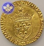 FRANCE-1498-1514-LOUIS XII- ECU OR AU SOLEIL-prSUP année: 1498 Métal: Or poids: 3.47 conservation: 2.2) presque Sup nation: France atelier: Troyes valeur faciale: 1.00 €737,00