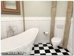 Architekt Maciej Olczak - projekt łazienki